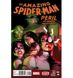 The Amazing Spider-Man #016 Peril at Parker Industries!