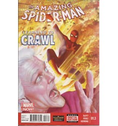 The Amazing Spider-Man #01.3 Learning to Crawl